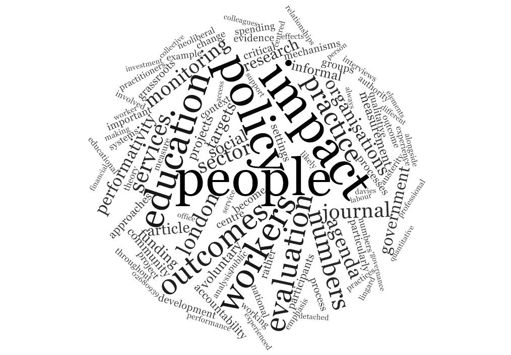 Rethinking impact, evaluation & accountability in youth work